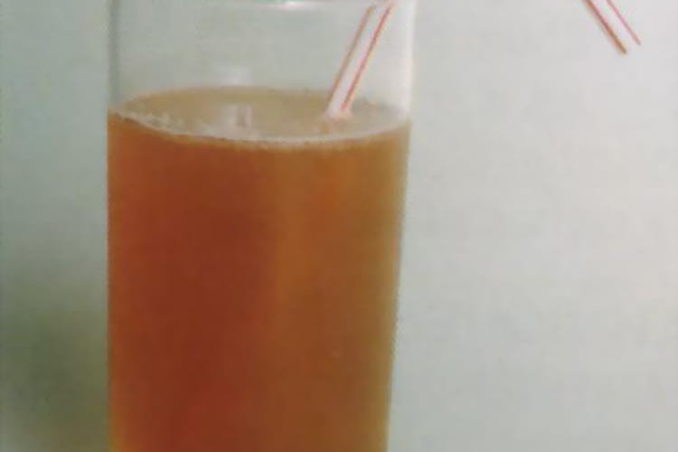 Thé glacé au rhum