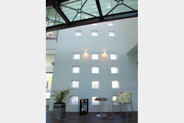 Un duplex vertical et lumineux