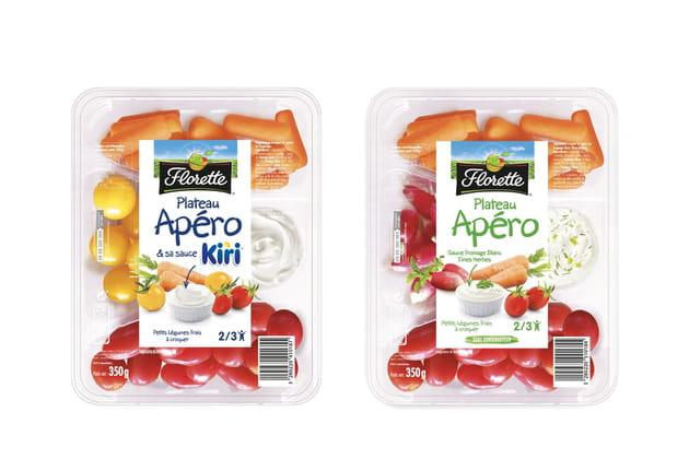 Le plateau Apéro sauce fromage blanc fines herbes de Florette