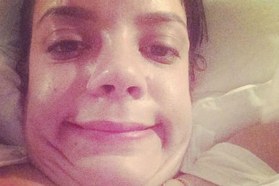 Lily Allen amuse les internautes avec un selfie très naturel
