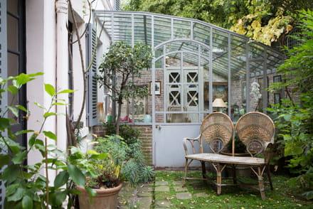 comment am nager une v randa ou un jardin d 39 hiver. Black Bedroom Furniture Sets. Home Design Ideas