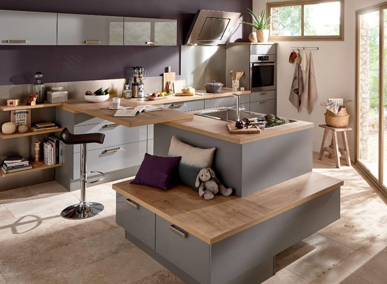 cuisine coriandre de conforama. Black Bedroom Furniture Sets. Home Design Ideas