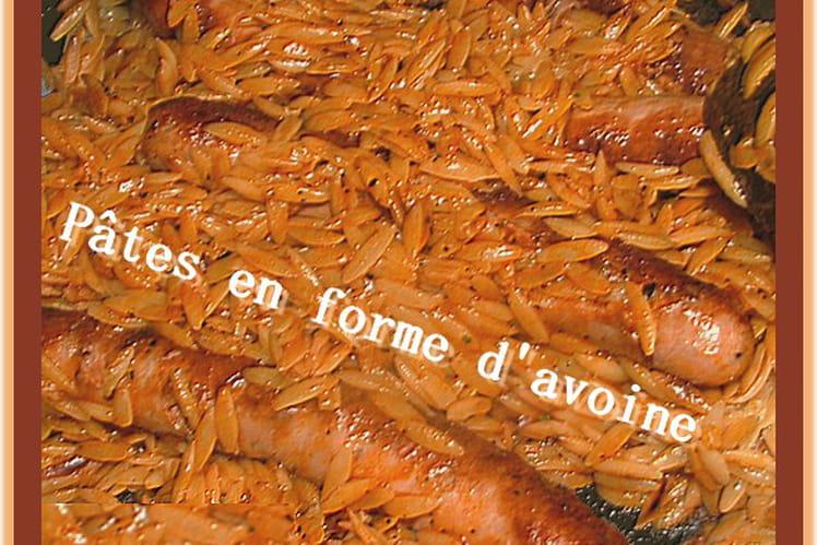 Avoines de Savoie aux saucisses et tomate