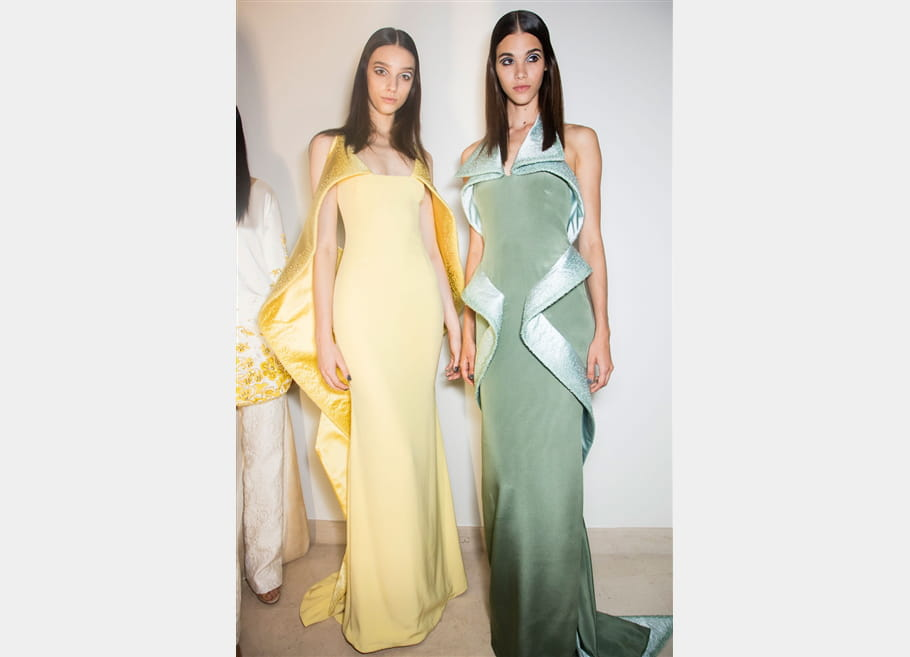 Alexis Mabille (Backstage) - Automne-Hiver 2016-2017