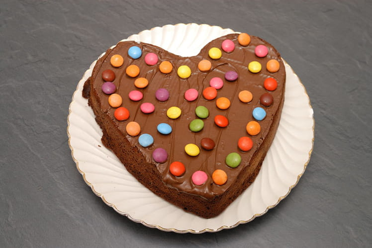 Gâteau au chocolat noir simplissime