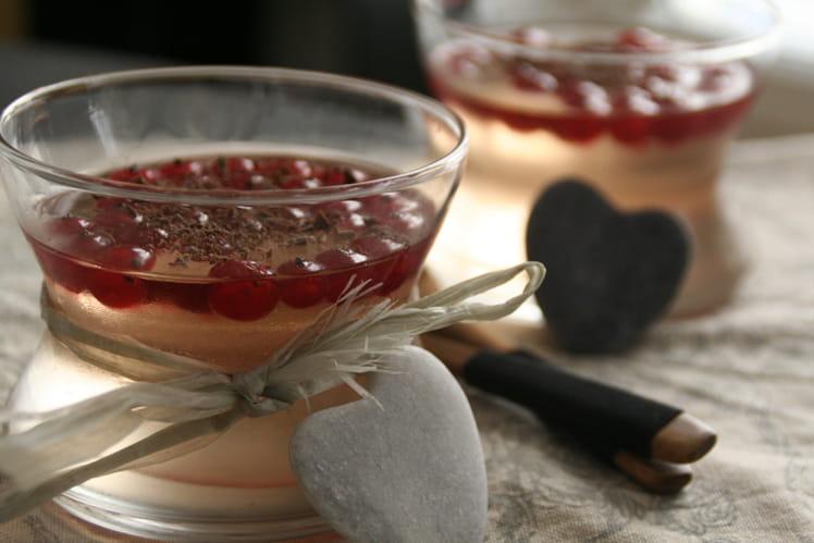 Gelée de Vin Rosée Groseille - Cannelle
