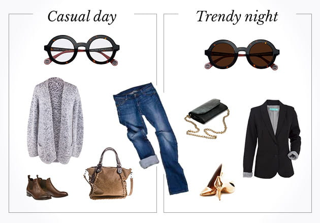 Casual day VS trendy night