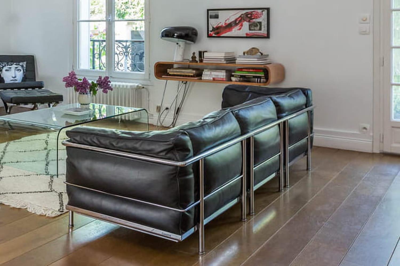 Fauteuil Le Corbusier: LC1, LC2, LC3et LC4... en trouver d'occasion