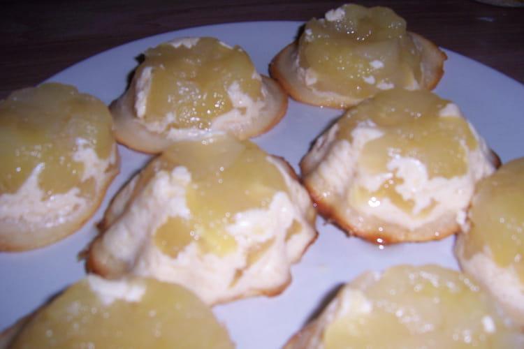 Crousti-fondants aux pommes