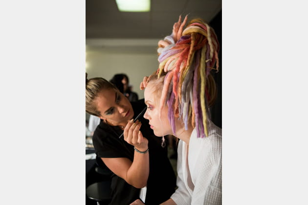 Marc Jacobs (Backstage) - Printemps-été 2017