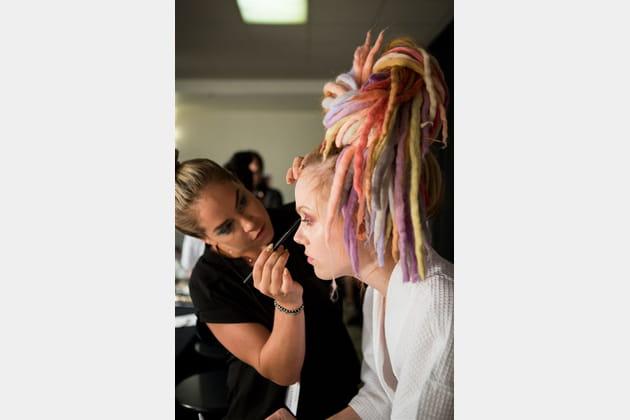 Marc Jacobs (Backstage) - Printemps-été 2017