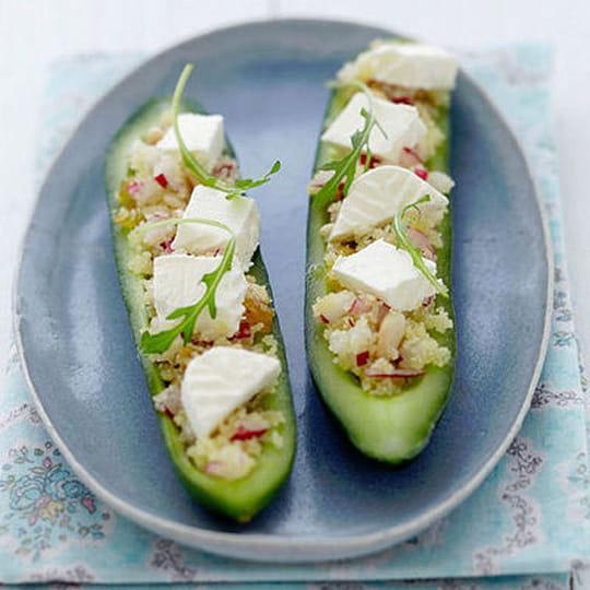 Top 5 de vos recettes au concombre préférées