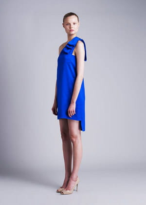 la robe bleue de stella mccartney