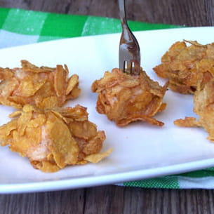 nuggets de poulet au corn flakes