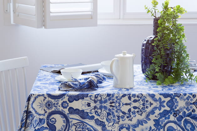 Nappe à imprimés feuilles de Zara Home