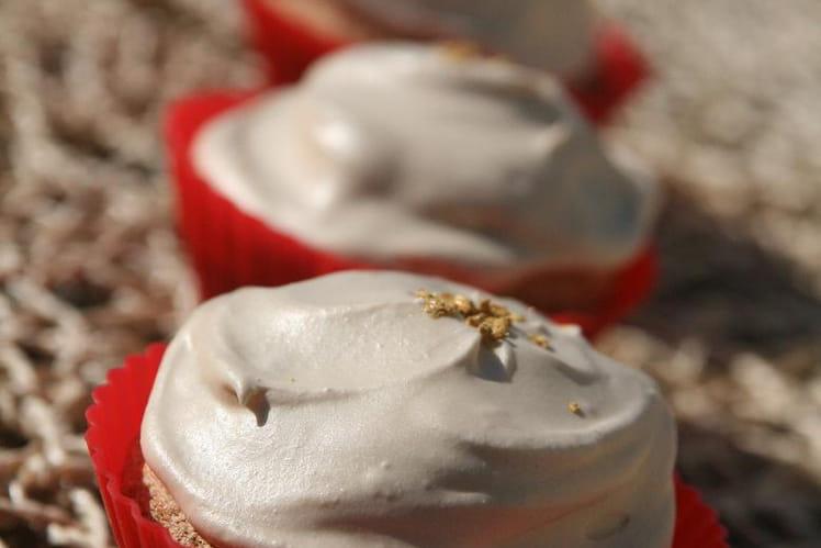 Cupcakes scintillants à l'huile d'argan