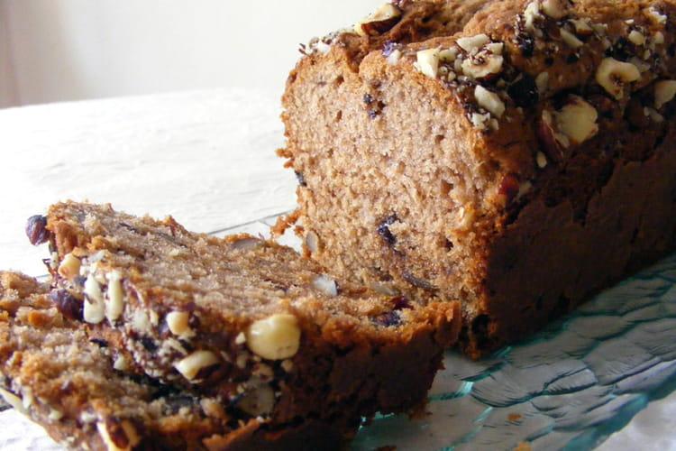 Cake d'automne à la châtaigne et aux noisettes