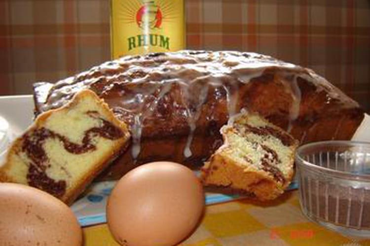 Cake marbré des îles