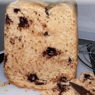 brioche aux pépites en machine à pain