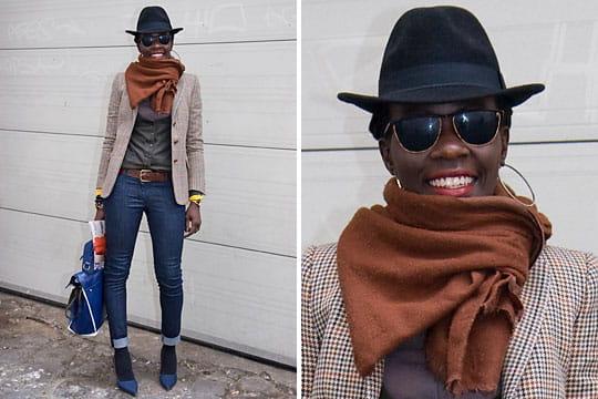 Fashion week : les street looks des défilés parisiens PAP automne-hiver 2011-2012 14