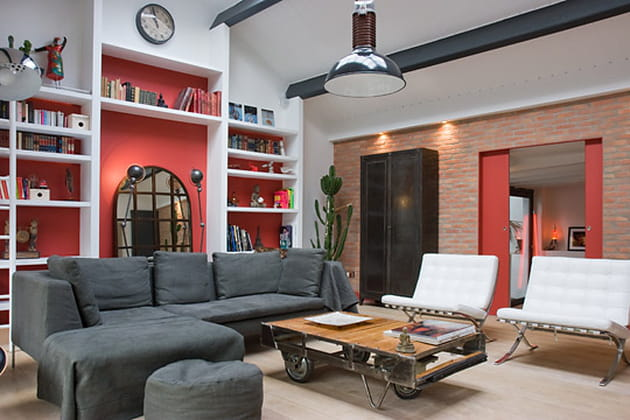 des couleurs qui r chauffent la maison. Black Bedroom Furniture Sets. Home Design Ideas
