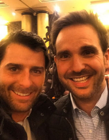 Christopher Hache et Christophe Michalak