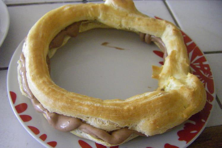Gâteau-nid chou choco