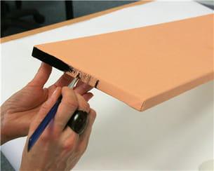 peindre les bords