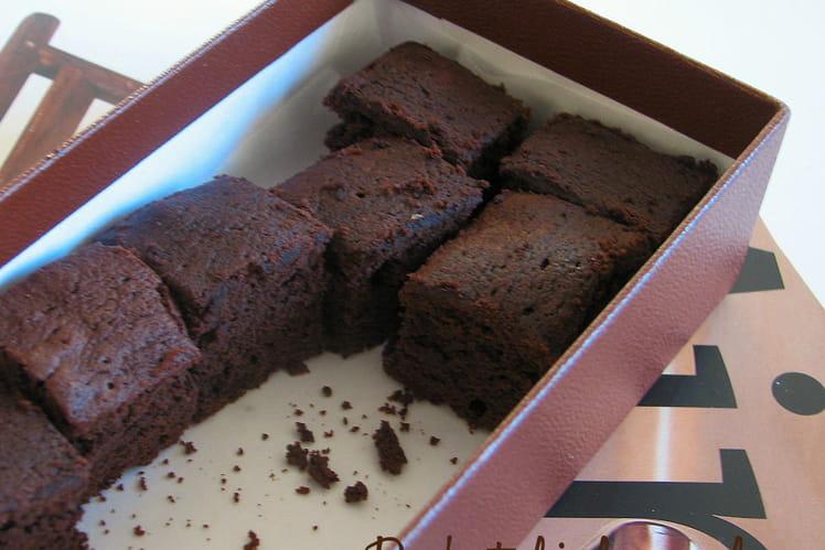 Mini brownies choco-tonka