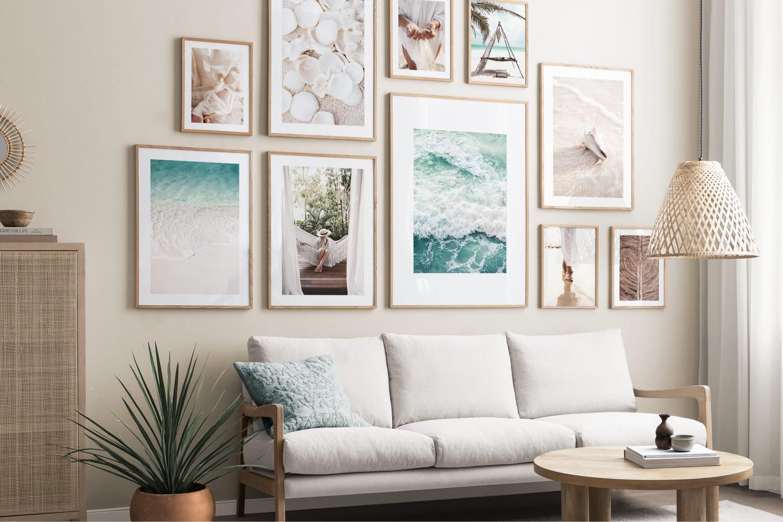 5idées de thèmes faciles pour décorer vos murs avec des affiches