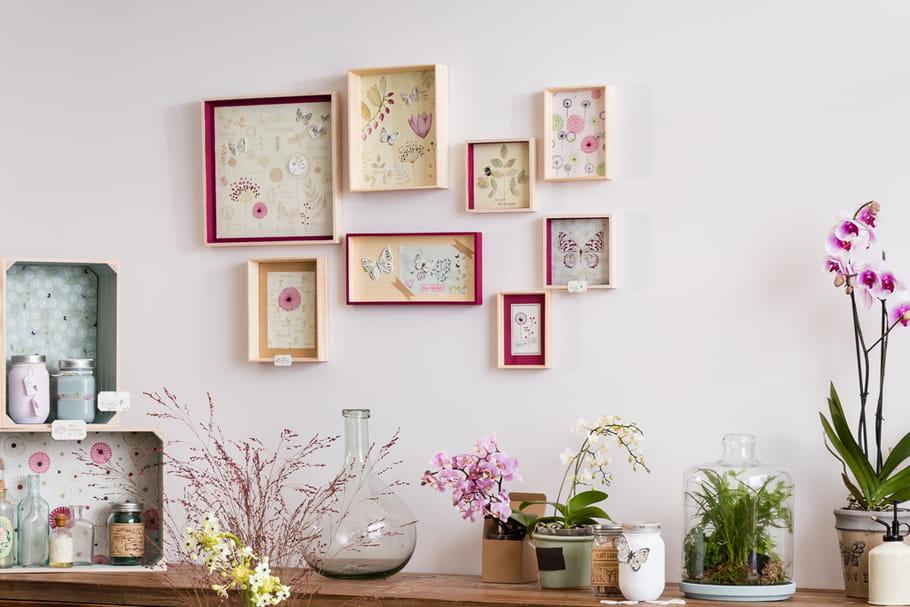 DIY : une composition de cadres façon carnet de botaniste