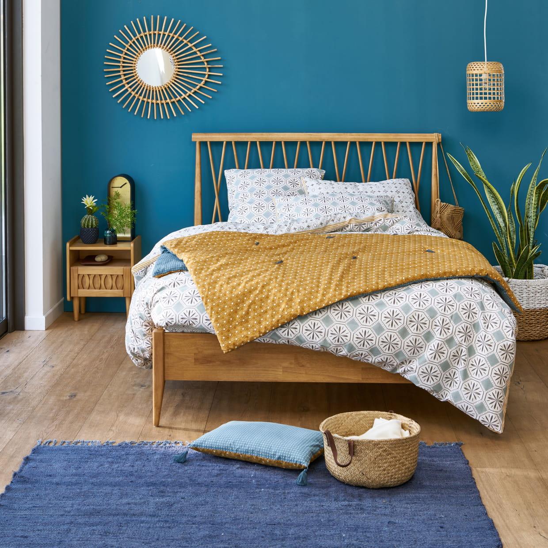 lit quilda et linge de lit salernes de la redoute int rieurs. Black Bedroom Furniture Sets. Home Design Ideas