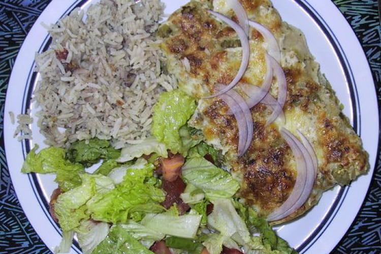 Gratin de brocolis et pommes de terre