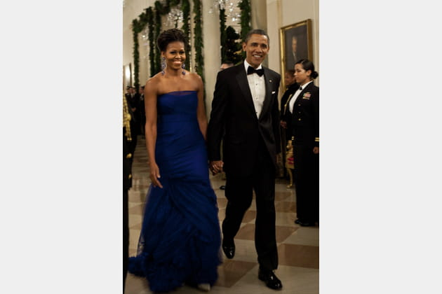 Michelle Obama le 5décembre 2011