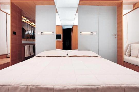 Les cabines des invités