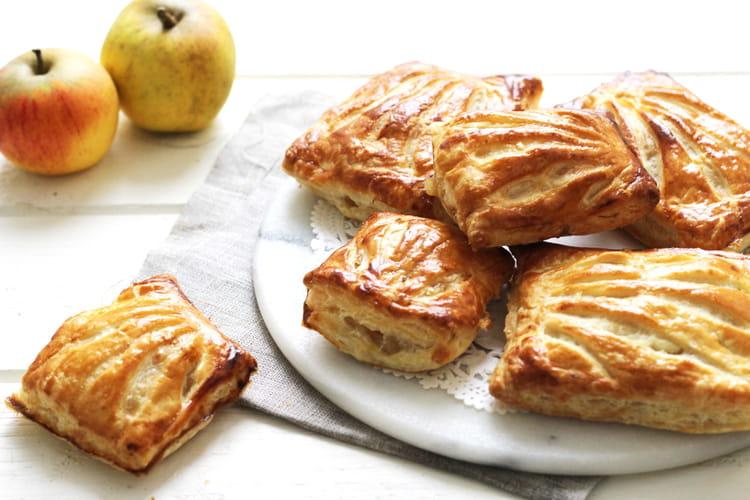 Chaussons aux pommes à la cannelle