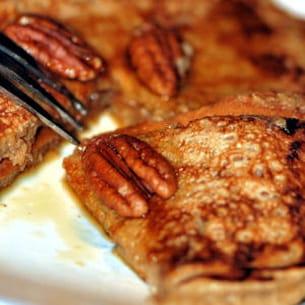 pancakes aux noix de pécan