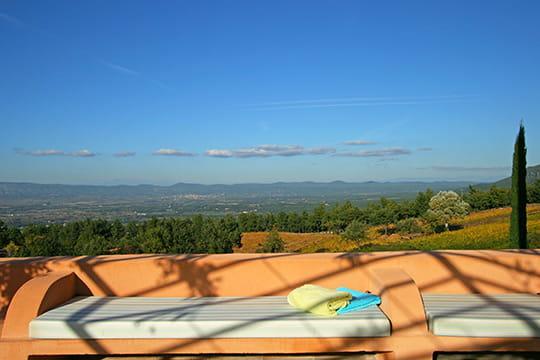 Une banquette en Provence