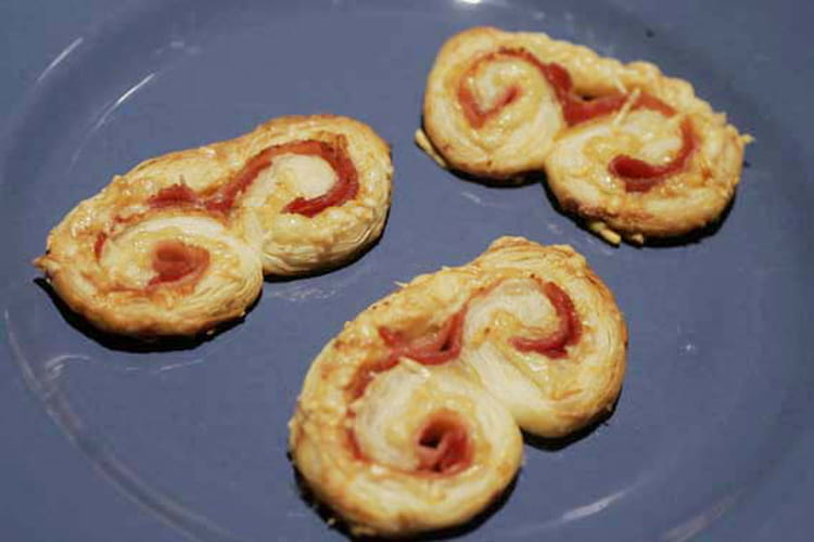 Palmiers jambon-fromage