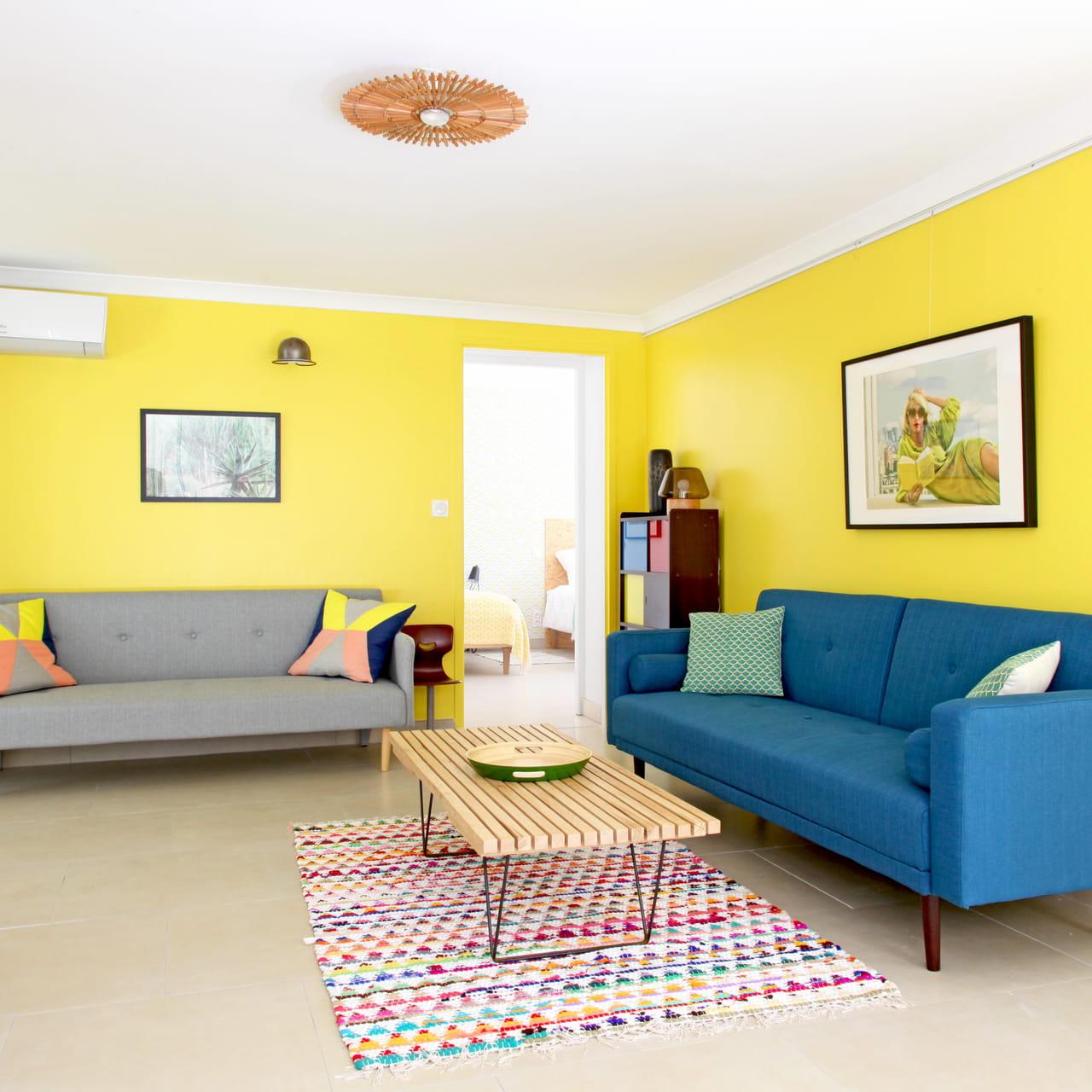 Le jaune en déco : toutes les idées pour bien l\'associer