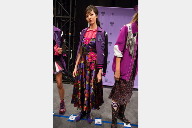 Anna Sui (Backstage) - photo 29