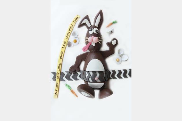 Squick, le lapin de Pâques déjanté de Marie Wucher, Le Parc Obernai