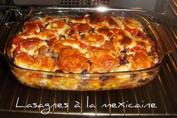 Lasagnes à la mexicaine