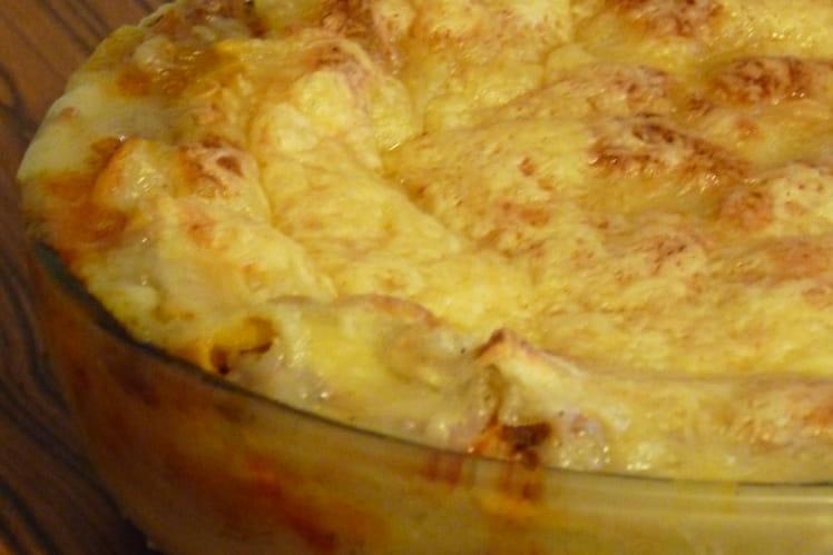 Lasagnes à la bolognaise faciles et légères