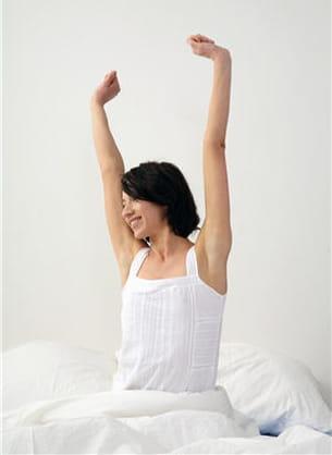 quelques calories sont perdues pendant le sommeil.