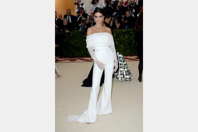 Kendall Jenner en Off-White