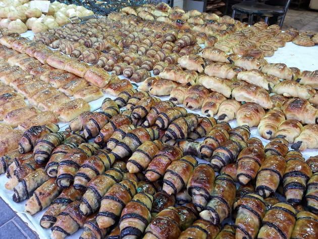Pâtisseries par milliers