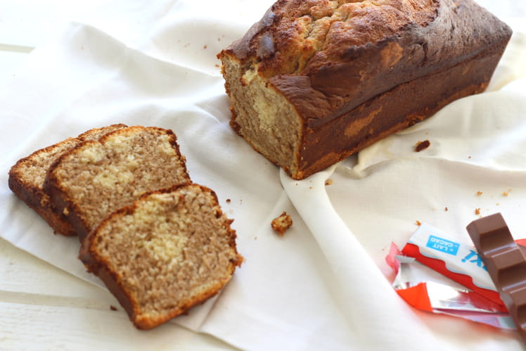 Cake marbré au kinder