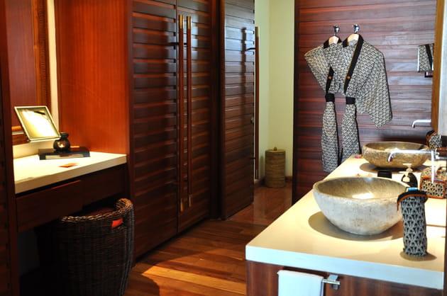 Salle de bains boudoir
