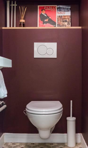 Des toilettes suspendues